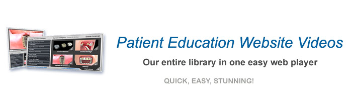 Dental Patient Education Videos Web Player